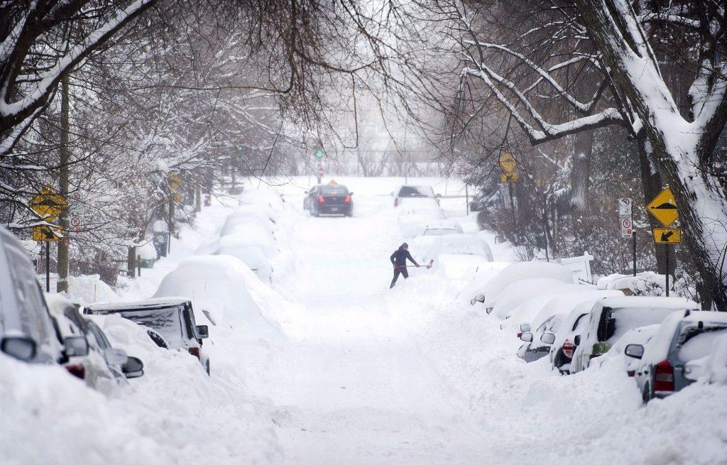 Québec: Une tempête de neige qui fait peur aux québécois