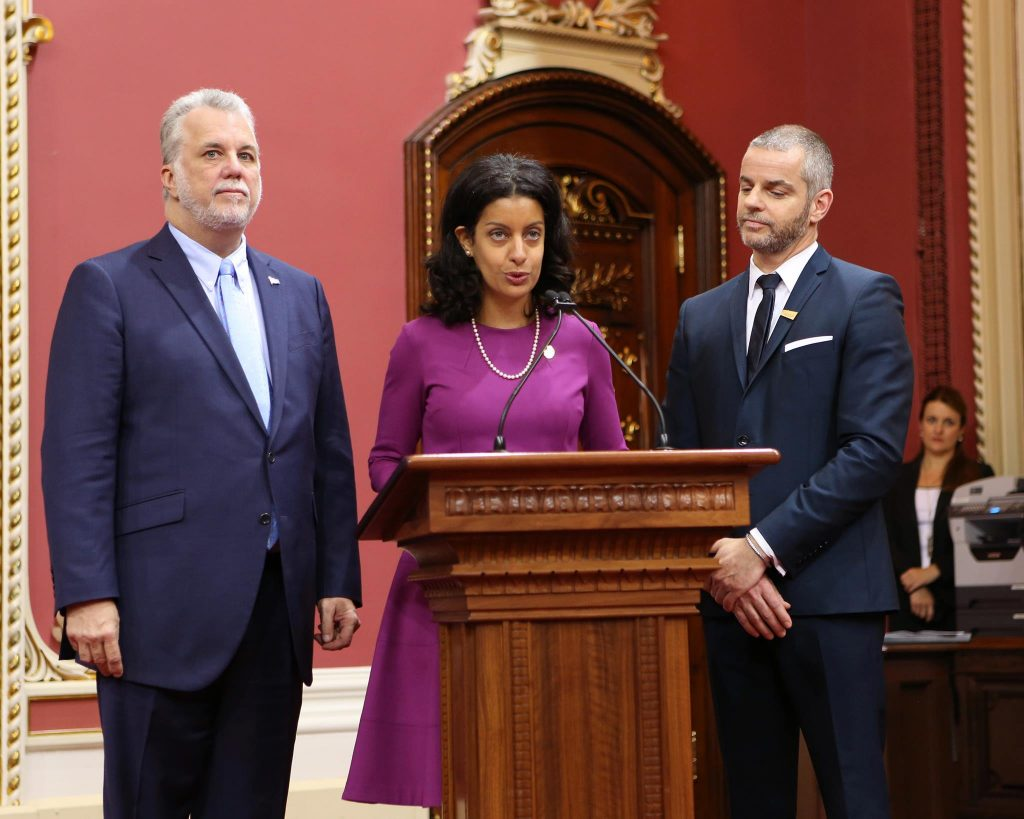 Dominique Anglade prend les commandes du parti Libéral du Québec