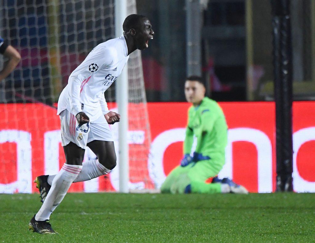 Ligue des Champions: Le Real Madrid a defait  les Italiens de Atalanta-Real Madrid 0-1