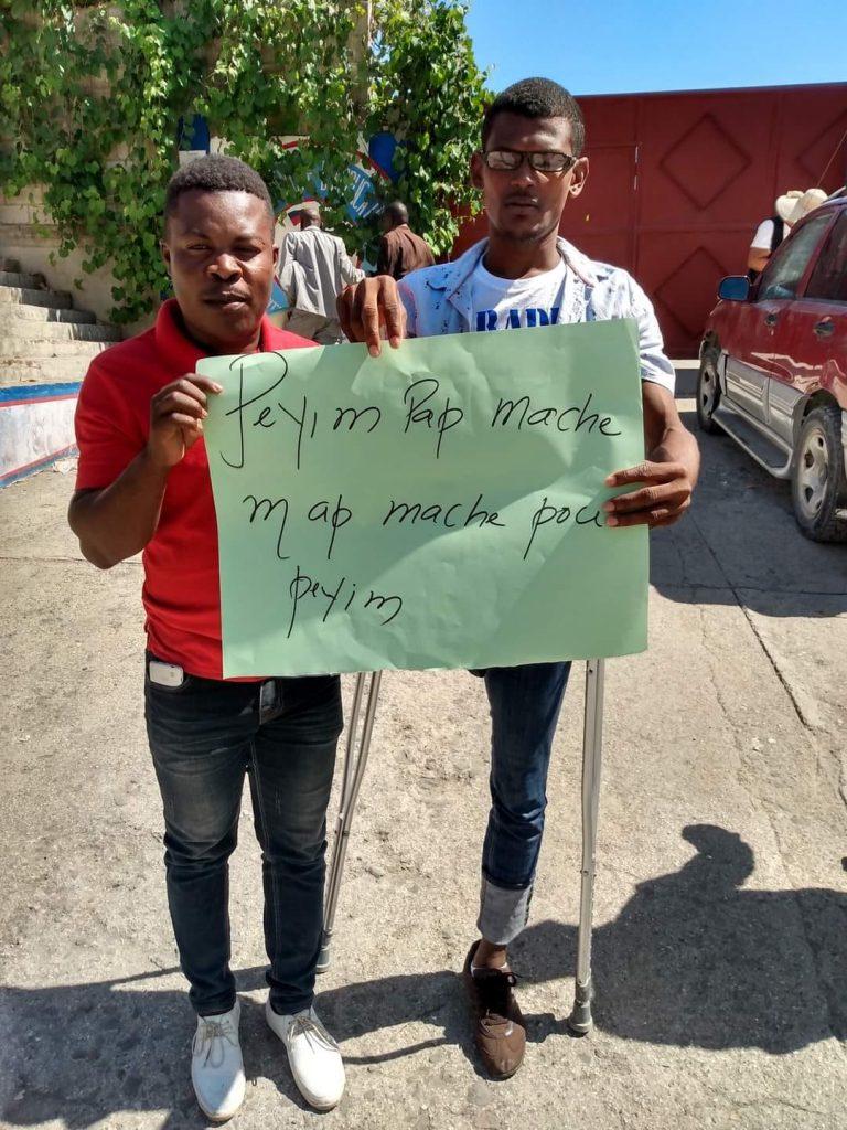 """Port-au-Prince: """"Démonstration de force contre Jovenel Moïse, la dictature et le kidnapping"""""""