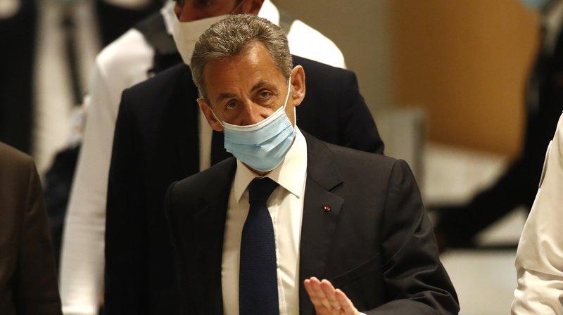 France/Justice: L'ancien president Francais, Nicolas Sarkozy condamné à 3 ans de prison pour corruption