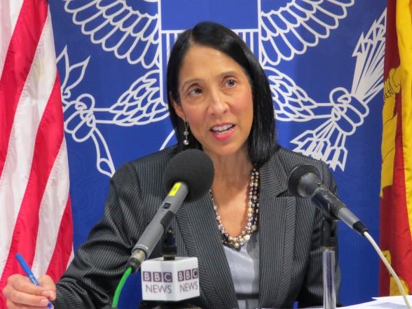 Quand l'ambassade des États-Unis en Haïti parle?