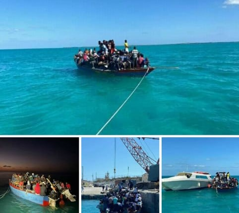 Haïti-Immigration: Environ 377 haitiens interceptés dans les eaux  des Îles de Turques et caïques